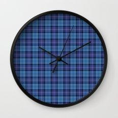 Royal Air Force Tartan Wall Clock