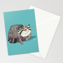 Manul Cat 2 Stationery Cards