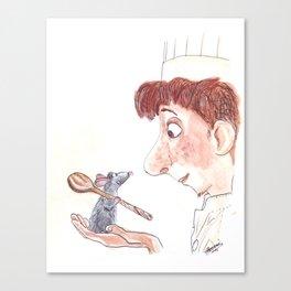 Ratatouille Canvas Print