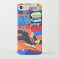band iPhone & iPod Cases featuring PIXEL BAND by Kevin Whipple