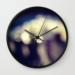 blur Wall Clock