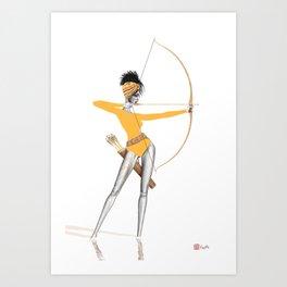 Summer Archer Special Edition Art Print