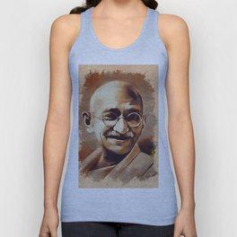 Mahatma Gandhi, Activist Unisex Tank Top
