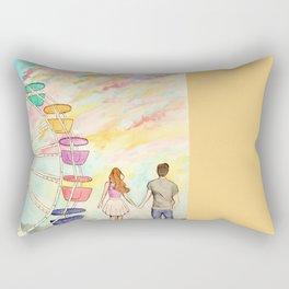 Carnival Sunset Rectangular Pillow