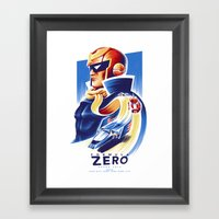 Formula Zero (Open Edition) Framed Art Print