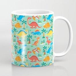Dinos Green Coffee Mug