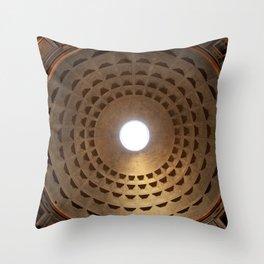 Pantheon - Rome, Italy Throw Pillow