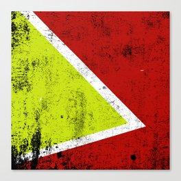 Rusty abstract art Canvas Print