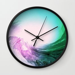 Crystal Wave Wall Clock
