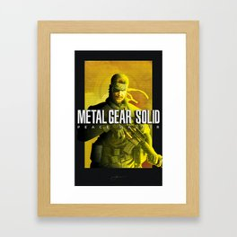 "Metal Gear Solid ""Vanguard"" Poster Framed Art Print"
