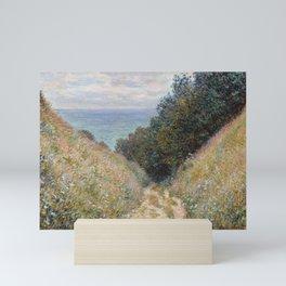 Road at La Cavée, Pourville by Claude Monet Mini Art Print