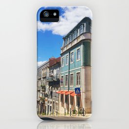 Lisbon Streets iPhone Case