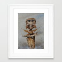 leonardo Framed Art Prints featuring Leonardo by Ed Schaap