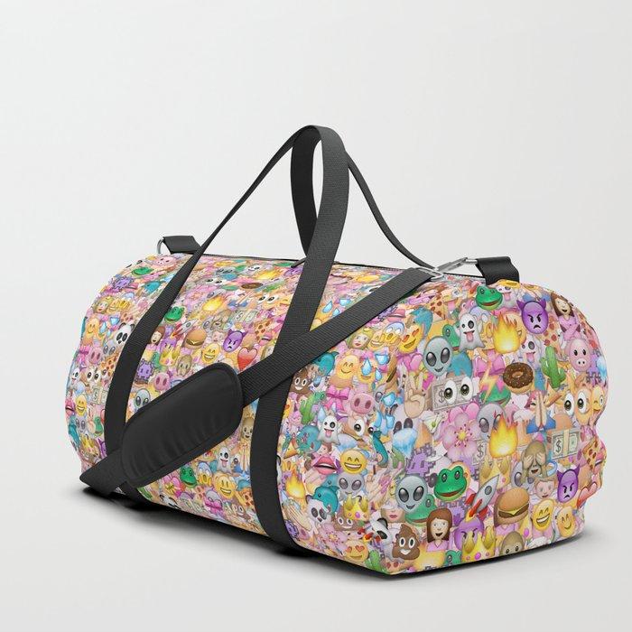 emoji / emoticons Duffle Bag