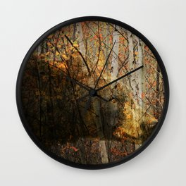 The Forest Bear Wall Clock