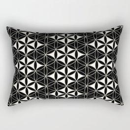 Flower of Life Pattern 12 Rectangular Pillow
