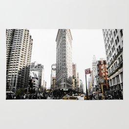 Desaturated New York Rug