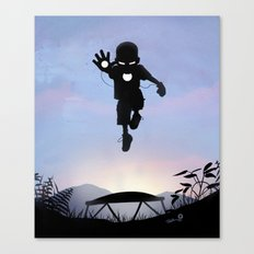 Iron Kid Canvas Print