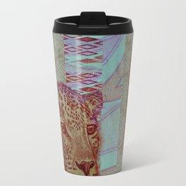 A Leopard Never Changes It's Stripes Travel Mug