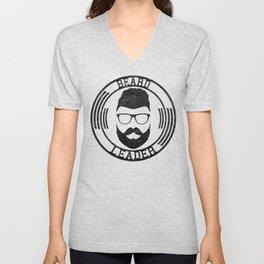 Beard leader Unisex V-Neck