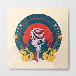 Vinyl No.5 Metal Print