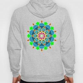 Meditation mandala in soft colors Hoody