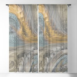 Fire Wind Sheer Curtain