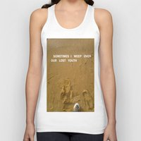 sand Tank Tops featuring sand by gasponce