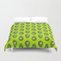 avocado Duvet Covers featuring Avocado by all2