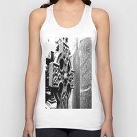 gothic Tank Tops featuring Gothic by Kim Ramage