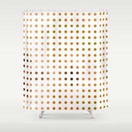 Polka Dot-Yellow Shower Curtain