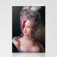 marie antoinette Stationery Cards featuring Marie Antoinette by lapinette