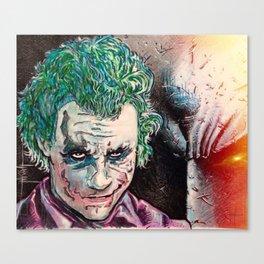 Maniac Canvas Print