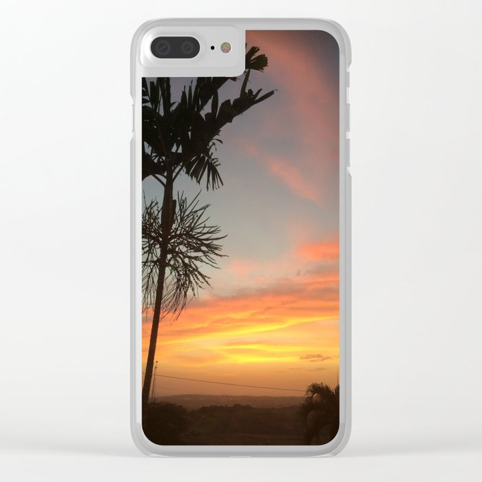 Country Sunsets Clear iPhone Case