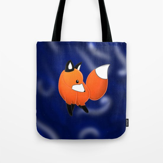 Introducing a fox Tote Bag