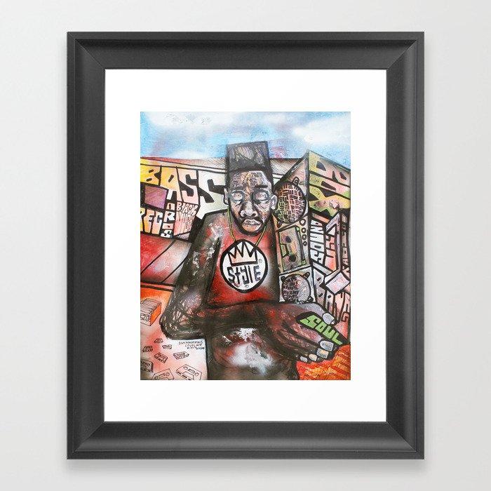 2014 Return of the Boom Box  Framed Art Print