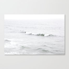Surf, Ocean Beach, SF Canvas Print