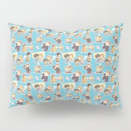 Chibilock Pattern Pillow Sham