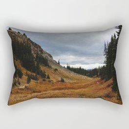 continental divide Rectangular Pillow