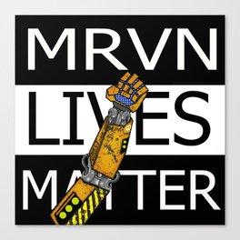 MRVN lives matter Canvas Print