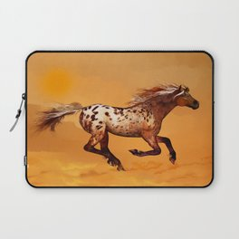 HORSE - An Appaloosa called Ginger Laptop Sleeve