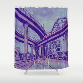 Rome by Night 1 Shower Curtain