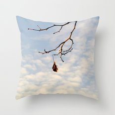 The last one left Throw Pillow