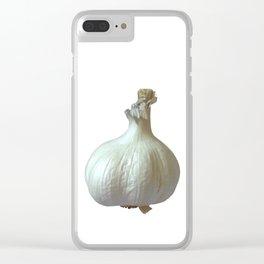 Garlic Solo Clear iPhone Case