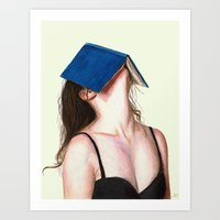 books Art Prints featuring Books by Carlos ARL