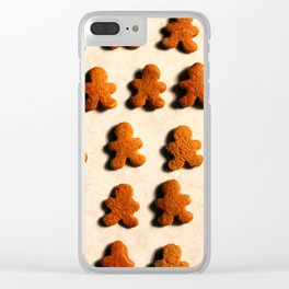 Christmas Cookies Pattern II Clear iPhone Case