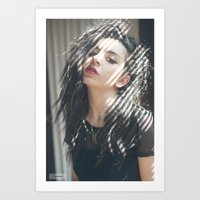 charli xcx Art Prints featuring Superlove ~ Charli XCX by Michelle Rosario