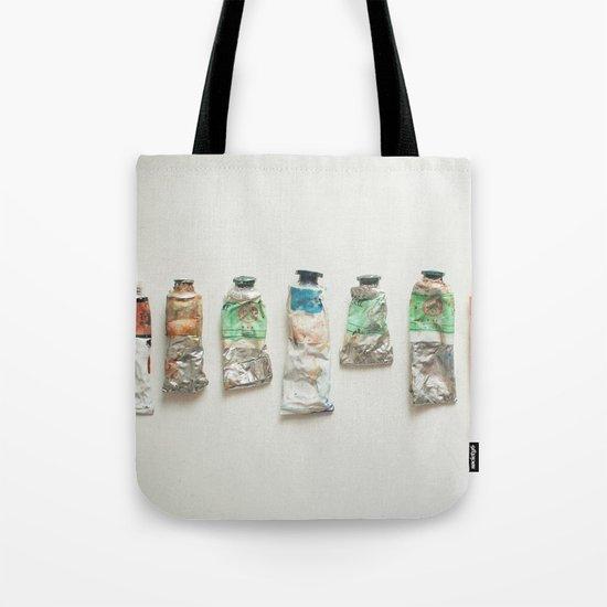 Oil Paints Tote Bag