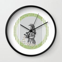 Aquarius - A Zodiac Sign Series Wall Clock