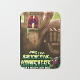 Attack of the Radioactive Hamsters From A Planet Near Mars Bath Mat